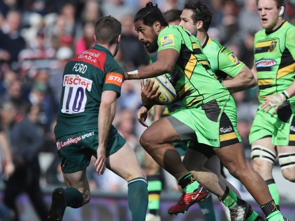 Northampton Saints Shocked Local Rivals Leicester Tigers In The East Midlands Derby While There Were Also Wins For Gloucester And Wasps