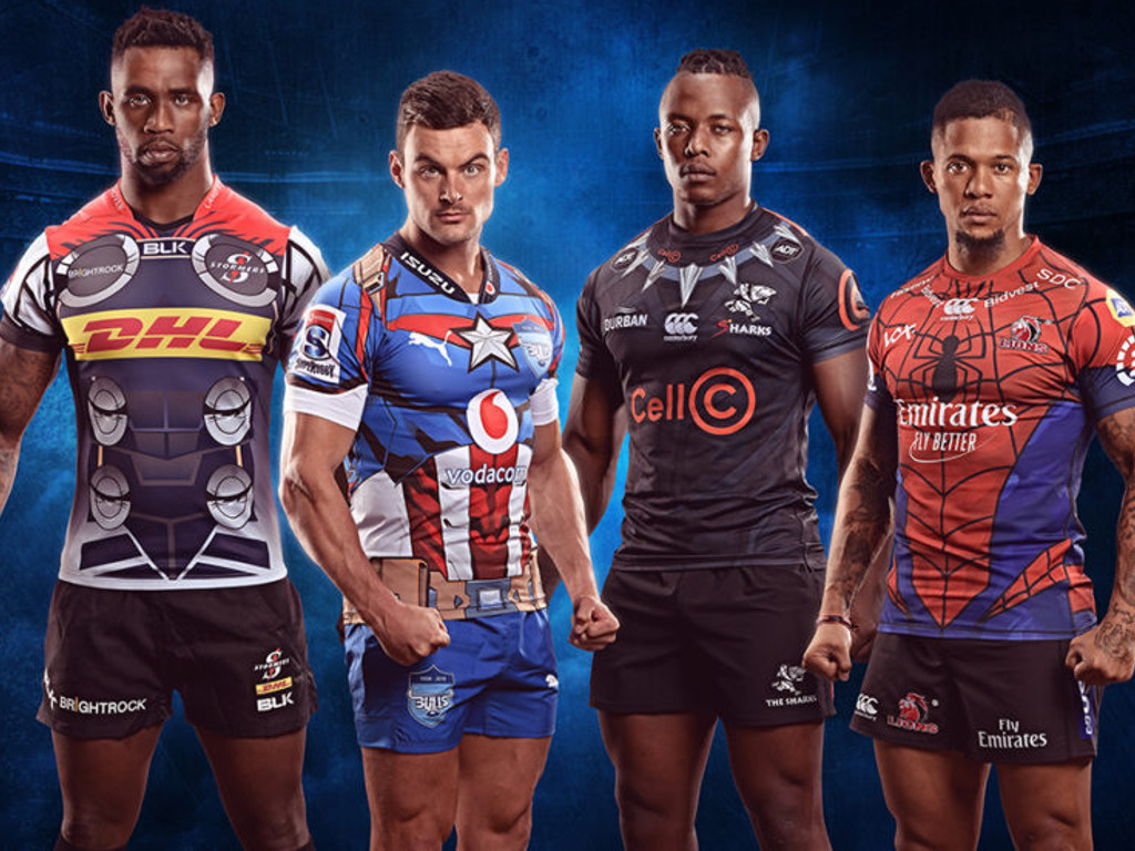 afc6fb49394 Marvel kits unveiled for Super Rugby games