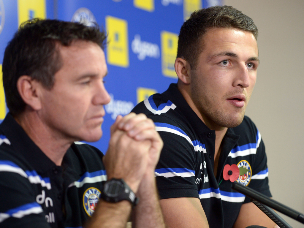 Sam Burgess slams 'snake' Mike Ford | Planet Rugby