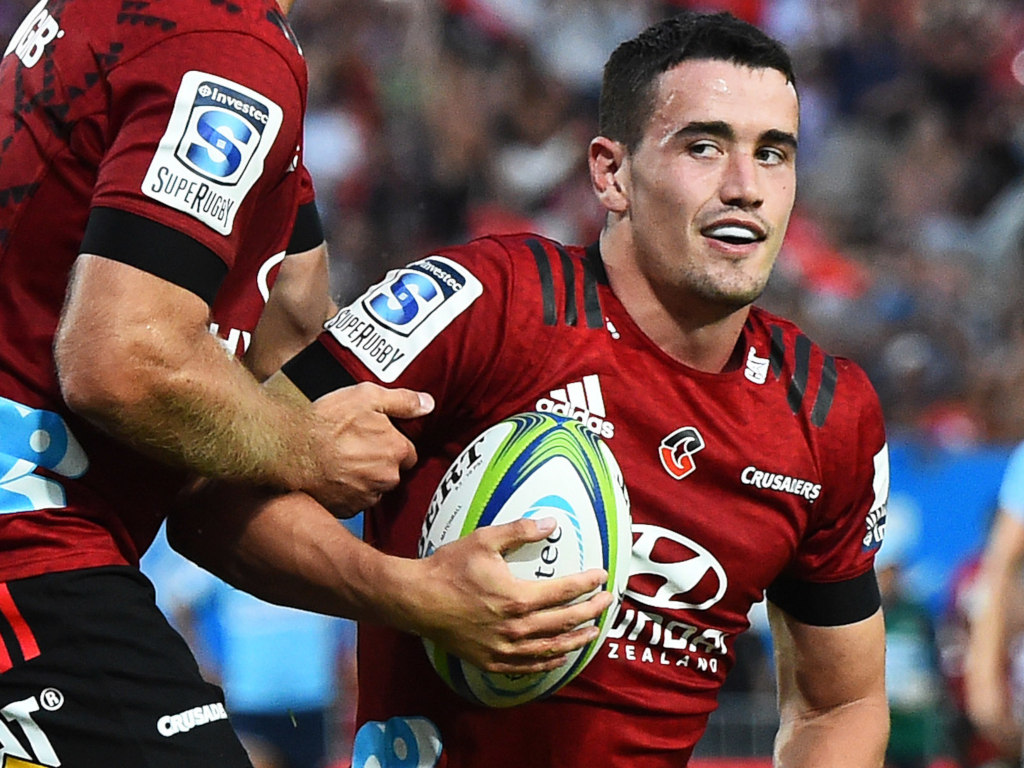 Will Jordan back at 15 for Crusaders | Planet Rugby