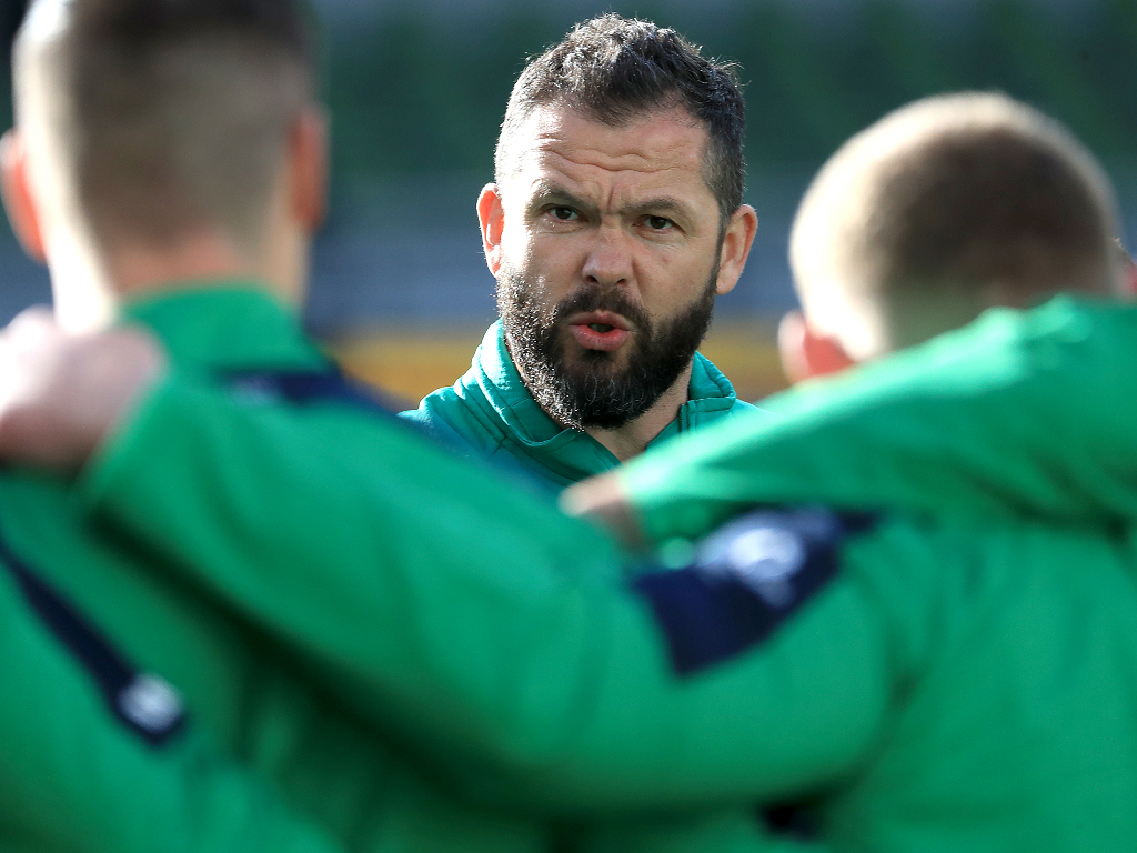 Andy Farrell receives backing from IRFU | Planet Rugby