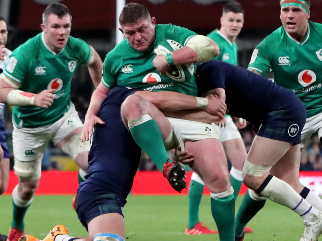 Tadhg Furlong ready to start for Ireland in Rome | PlanetRugby